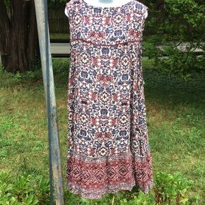 American eagle outfitters size XXL blu/pink floral